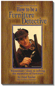 "Fred Taylor's Book ""How to be a Furniture Detective"""
